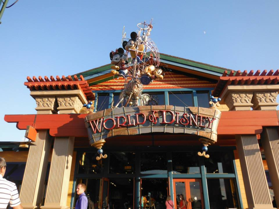 World of Disney in Downtown Disney