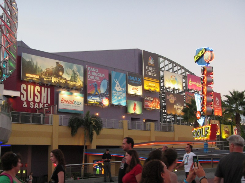 Der Universal City Walk